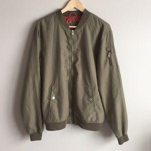 Bershka excellent condition bomber jacket